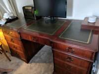 Large Pedestal Desk
