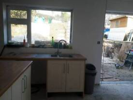 Complete shaker kitchen up for grabs