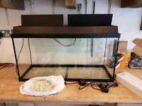 Juwel aquarium with light and accessories
