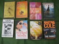 8 Modern Novels for £5.00