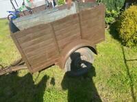 Car trailer camping trailer 5x3