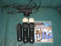 Playstation Move bundle.