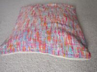 BRAND NEW SILK BOUCLE WITH SUEDE BACK CUSHION COVER