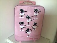 Young Girl's Suitcase