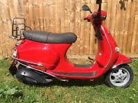 Vespa 125 2004 Low Miles 11500 Lovely Condition With Many Extra's