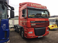 DAF XF 105 460 hp auto gearbox