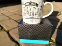 Fantastic Grandad Birthday Gift Mug Boxed New