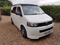 VW T5 Camper Transporter 4 Berth Motorhome New Conversion Show Van 64 Plate 17000 miles only REDUCED