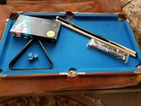 Childrens Pool Table with accessories