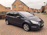 2012 FORD S-MAX TITANIUM 2.0 DIESEL AUTOMATIC, CRUISE, BLUETOOTH, PARKING SENSORS