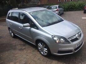 Vauxhall zafira 2006 1.9 cdti automatic 101 k miles fsh 12 mot 1550 pounds