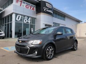2017 Chevrolet Sonic LT RS sport package