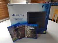 Sony Playstation 4 1TB Ultimate Players Edition with 3 Games!