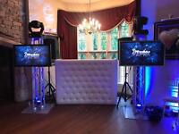 Wedding Birthday Corporate Events Xmas Christmas Party DJ DJs Entertainment Host MC Plasma Hire