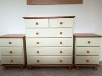 4 piece bedroom furniture set - brand new
