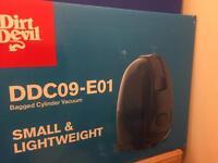 Brand new Dirt devil cylinder vacuums DDC09-E01