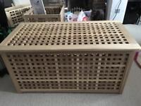 Wooden storage box £30 (2 sold- 1 left)