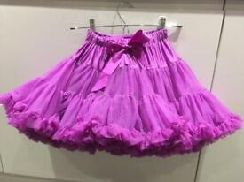 Girls Angels Face Frilly Tutu Skirt Aged 4-6