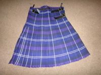 kilt Purple in excellent condition made by The Kilt