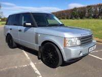 LAND ROVER RANGE ROVER 3.6 TDV8 VOGUE 5d AUTO 272 BHP IMMACULATE COND, LOW MILEAGE (silver) 2006