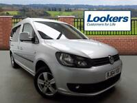 Volkswagen Caddy Maxi C20 LIFE TDI BLUEMOTION TECHNOLOGY (silver) 2015-01-29