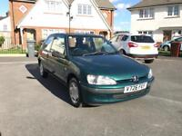 Peugeot 106 Zest 1.1L Cheap To Run And Insure