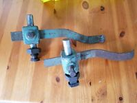Spindle moulder spring clamps