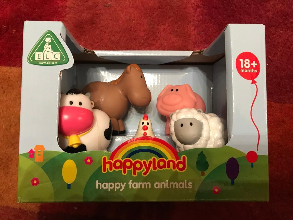 Happyland farm animals - Great Christmas stocking filler! £6