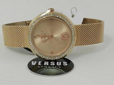 Versus by Versace Women's Léa Stainless Steel Mesh Bracelet Watch 35m