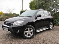 Toyota Rav4 2.2 D-4D XT4 6 speed manual. 2007 (56 plate). Full service history. Excellent condition.
