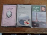 Music cassette tapes various