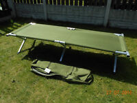highlander military packaway Au lite camp bed