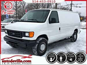2006 Ford E-250 CARGO  FINANCEMENT DISPONIBLE