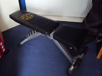 Golds Gym Utility Bench
