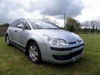 2005 CITROEN C4 1.6 HDI DIESEL..110 BHP..MOTED TO JULY..POSSIBLE PART EXCHANGE