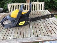 1 Petrol & 1 Electric Chainsaw (see both pictures )