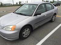 Honda Civic 2002 Silver