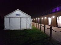 Marquees with stylish features and different themes to choose from