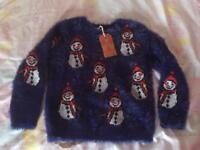 BNWT next Christmas jumper Age 5