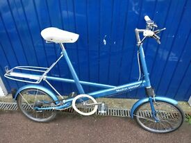 1965 Kingfisher Blue 4 speed Moulton Standard bicycle