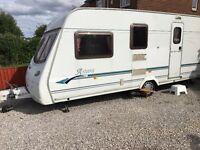 2003 Lunar Astara 524 used tourer touring caravan single axle 4 berth.