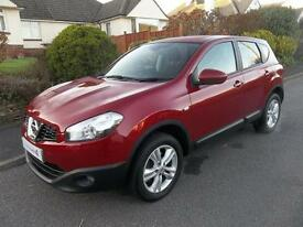 Nissan Qashqai 1.6 Acenta 5dr (magnetic red) 2012