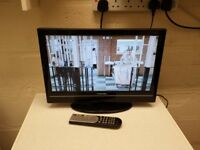 toshiba 19 inch Widescreen HD Ready LCD TV with built in DVD Player and Freeview