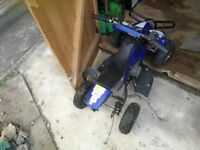 50cc quad sold as seen. Spares or repairs