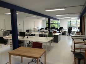 Hackney Road Architects studio - desk space in bright friendly open plan warehouse - 2-6 people