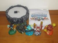 Wii Skylanders Spiro Adventure Starter Game with Portal, Chip and 5 Characters