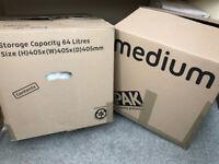 StorePAK Moving House Cardboard Storage Boxes - Set of 24