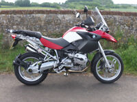 BMW R1200 GS - Superb condition - full luggage