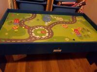 free kids train table