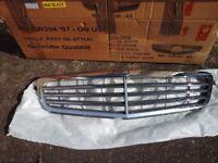 Mercedes-benz compressor grill silver 2008